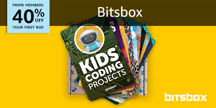 40% off your first box of BitsBox