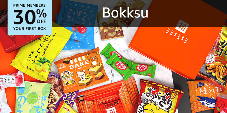 30% off your first Bokksu