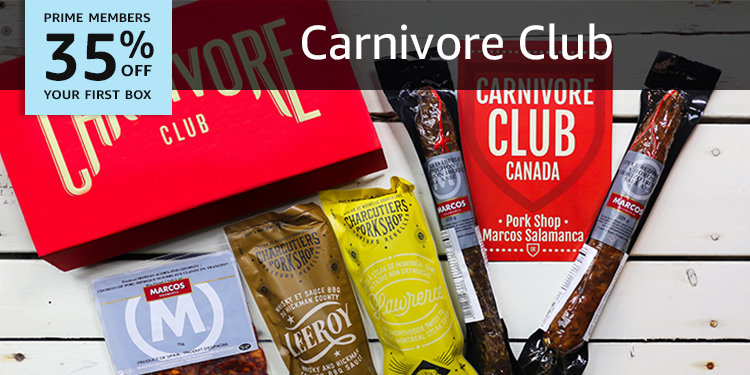 35% off your first Carnivore Club