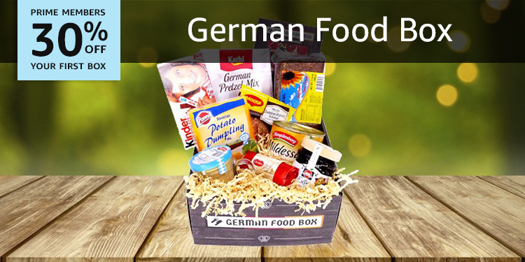 30% off your first German Food Box