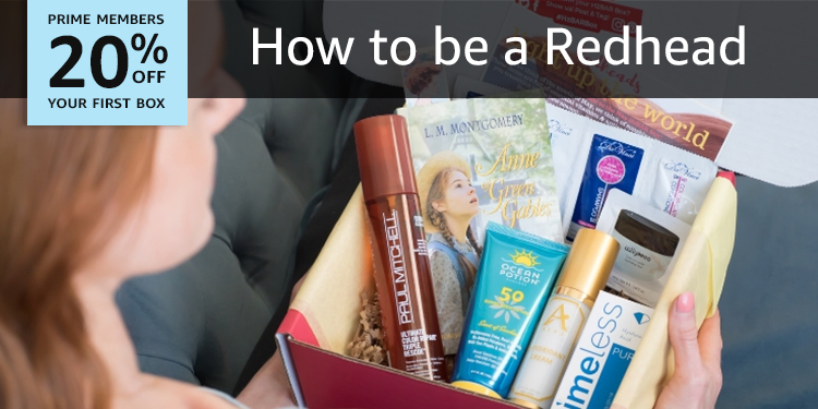20% off your first box of How to be a Redhead