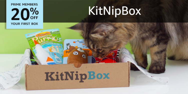 20% off your first box of KitNipBox