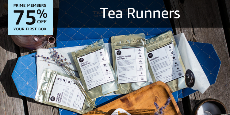 75% off your first box of Tea Runners