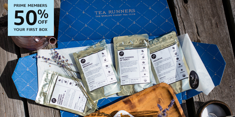 50% off your first box of Tea Runners