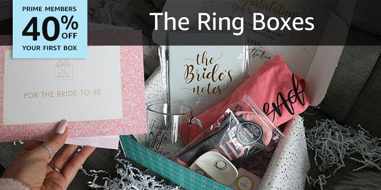 40% off your first box of The Ring Boxes
