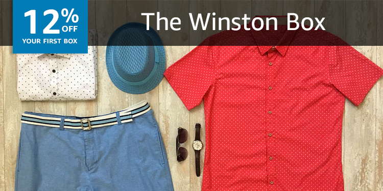 12% off your first box of Winston Box