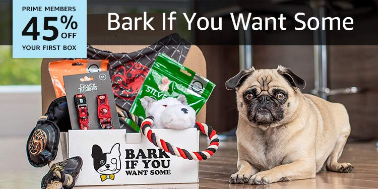 Bark if you want some