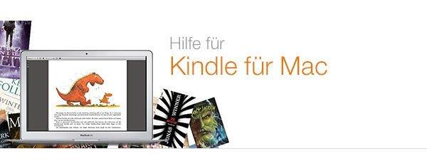Kindle für Mac Hilfe