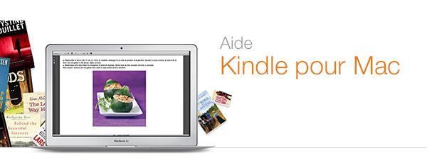 Aide Kindle pour Mac