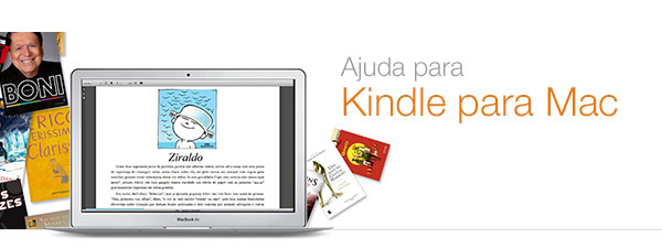 Ajuda do Kindle para Mac
