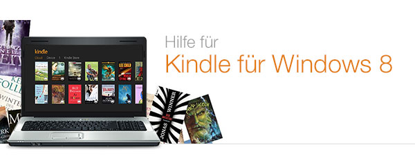 Hilfe zu Kindle für Windows 8
