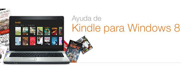 Ayuda de Kindle para Windows 8