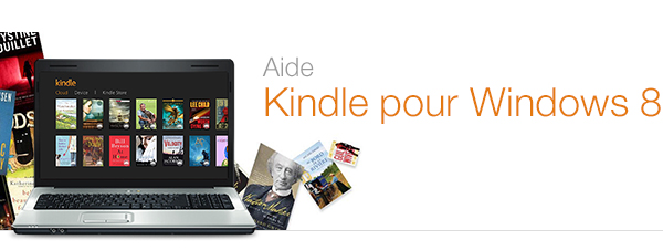 Aide concernant l'application Kindle pour Windows 8