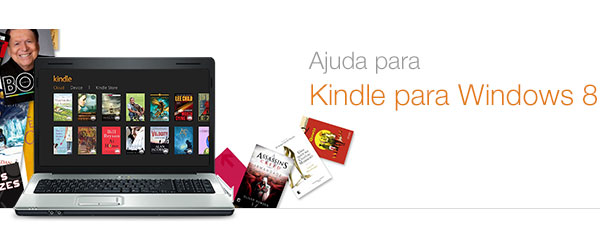 Ajuda do Kindle para Windows 8