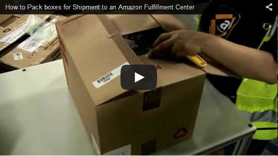 How to PAck boxes for Shipment to an Amazon Fulfillment Center
