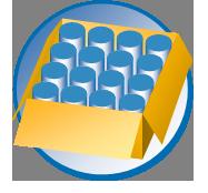 Verpackungsart: sortenreine Kartons