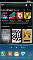 Amazon app suite for Android phones
