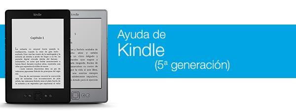 Ayuda de Kindle
