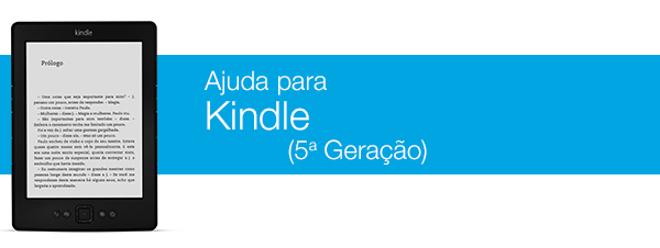 Ajuda do Kindle