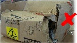 外包装受损