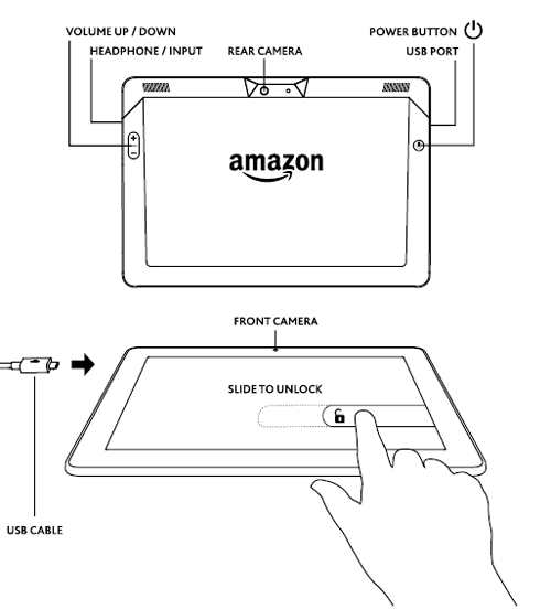 Amazon Co Uk Help  Hardware Basics  Kindle Fire Hdx 8 9