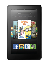 Image of a Kindle Fire 2nd Generation