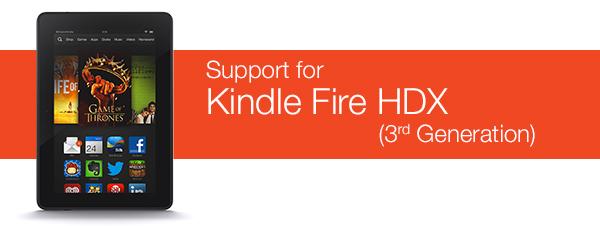 Kindle Fire HDX Help