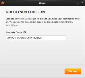 amazon pc origin code einlösen