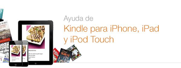 Ayuda de Kindle para iOS