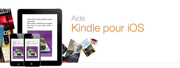Aide concernant l'application Kindle pour iPad, iPhone et iPod touch