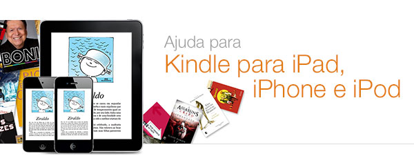 Ajuda para Kindle para iPad, iPhone e iPod Touch