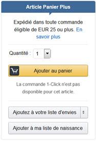 Articles Panier Plus et la livraison Rapide gratuite 0f24c088421c