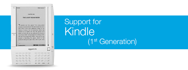 AMAZON KINDLE 1ST GENERATION WINDOWS VISTA DRIVER