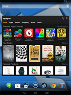 Amazon app suite for Android tablets