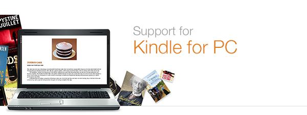 Kindle for PC Help