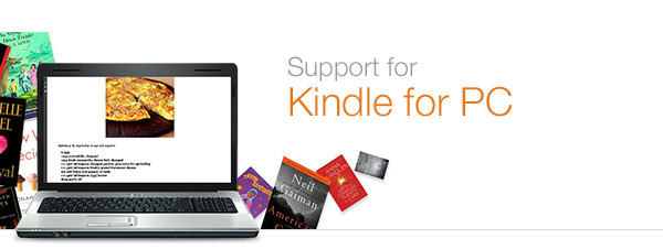 Amazon in Help: Kindle for PC