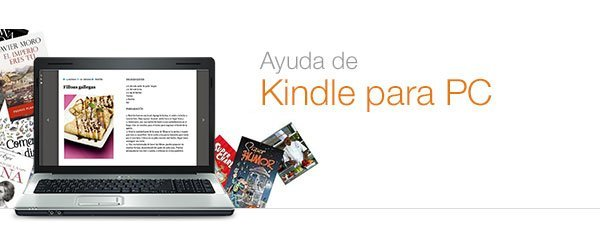 Ayuda de Kindle para PC