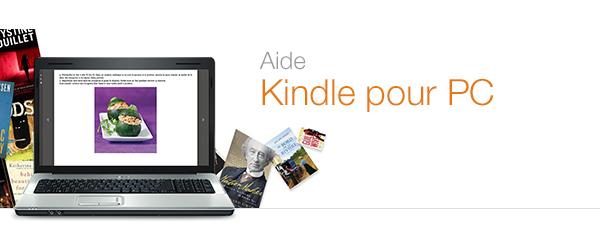 Aide Kindle pour PC