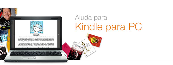 Ajuda para Kindle para PC