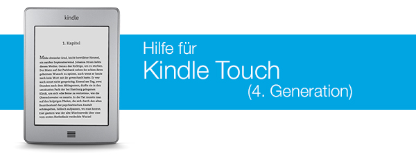 Kindle Touch-Hilfe