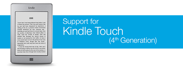 Kindle Touch Help