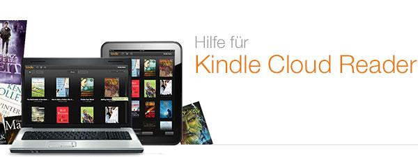 Kindle Cloud Reader Hilfe