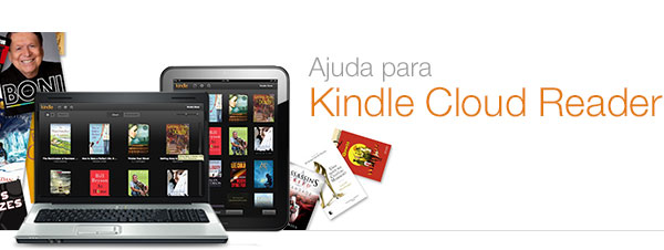 Ajuda do Kindle Cloud Reader