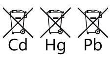 Bild på kadmiumbatterier