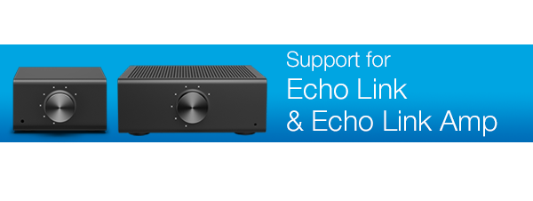 Support for Echo Link and Echo Link Amp