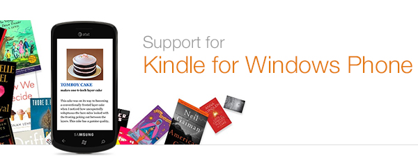 Kindle for Windows Phone Help