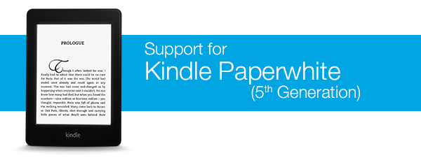 Support for Kindle Paperwhite 1st Generation