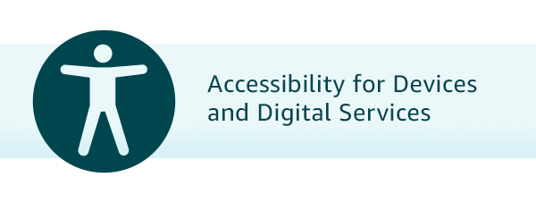 Accessibility Help Topics for Amazon Devices and Digital Services