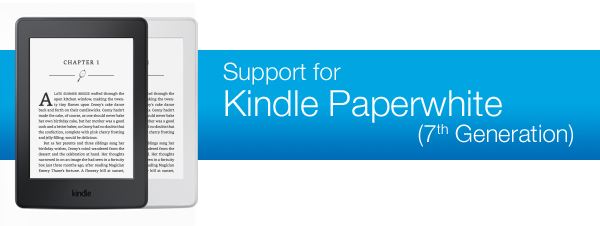 User Manual For Kindle Paperwhite 7th Generation Free Owners Manual