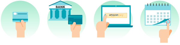 Modes de paiement disponibles (carte bancaire, prélèvement, Amazon Pay, etc.)
